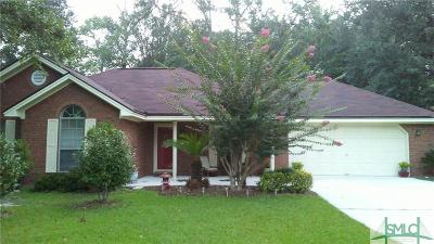 Guyton Single Family Home For Sale: 124 Victoria Circle Circle