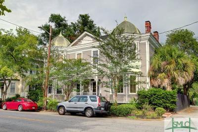 Savannah Single Family Home For Sale: 608 Habersham Street