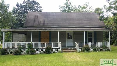 Sycamore GA Single Family Home For Sale: $41,400