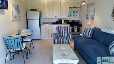 Tybee Island Condo/Townhouse For Sale: 1608 Jones #2