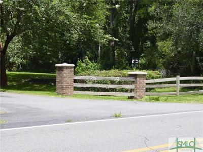 Savannah Single Family Home For Sale: 10073 Ferguson