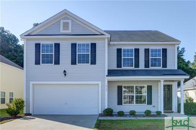 Pooler Single Family Home For Sale: 218 Tigers Paw Drive