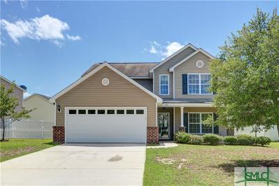 Pooler Single Family Home For Sale: 183 Hamilton Grove Drive