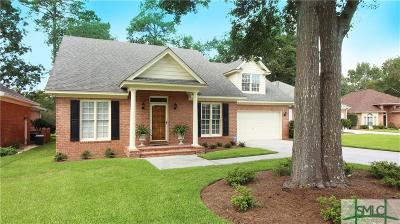 Savannah Single Family Home For Sale: 14 Oak Park Point