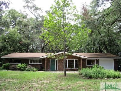 Savannah Single Family Home For Sale: 112 Kentshire Court