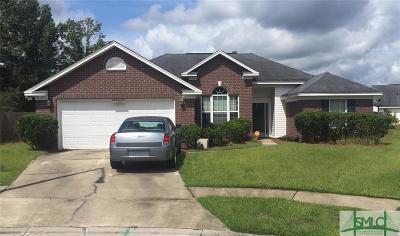 Savannah Single Family Home For Sale: 143 Meadowside Lane