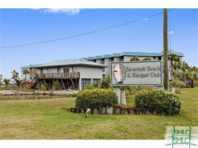 Tybee Island Condo/Townhouse For Sale: 1217 Bay Street #119-B