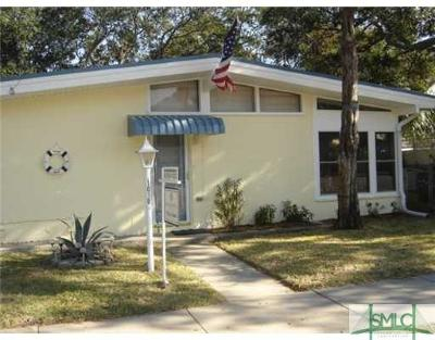 Tybee Island GA Single Family Home For Sale: $525,000