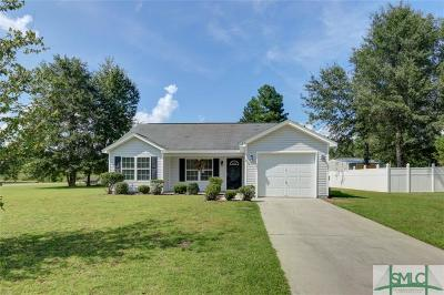 Effingham County Single Family Home For Sale: 122 Blackwater Way