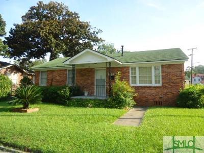 Savannah Single Family Home For Sale: 1124 E 35th Street