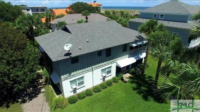 Tybee Island Single Family Home For Sale: 4 8th Place
