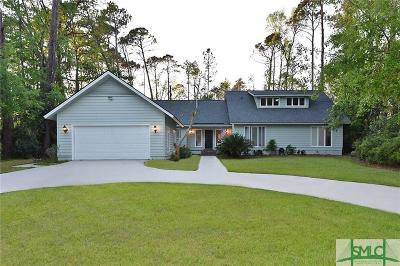 Savannah Single Family Home For Sale: 24 Franklin Creek Road S