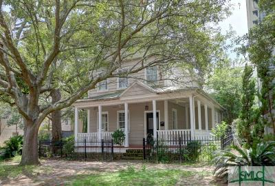Savannah Single Family Home For Sale: 219 W Hall Street
