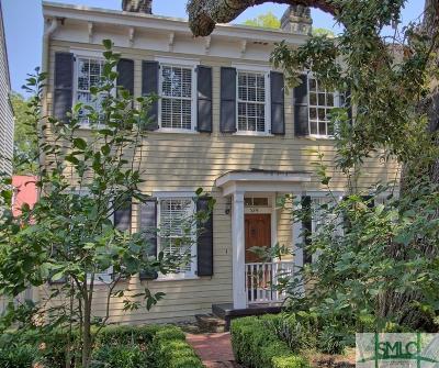 Savannah Single Family Home For Sale: 524 E Jones Street