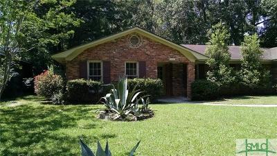 Savannah Single Family Home For Sale: 4 Cutler Drive