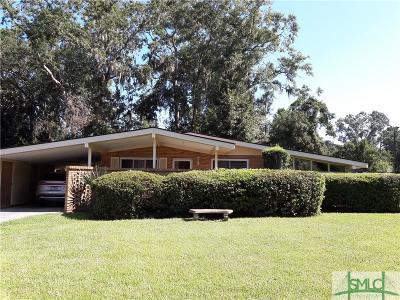 Savannah GA Single Family Home For Sale: $129,000