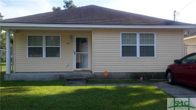 Savannah Single Family Home For Sale: 811 Dixon Street