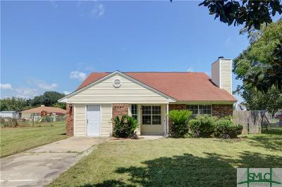 Rincon Single Family Home For Sale: 103 Dogwood Circle