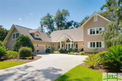 Savannah Single Family Home For Sale: 12 Cedar Marsh Retreat
