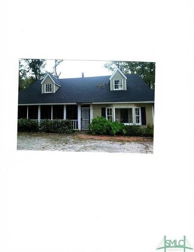 Guyton Single Family Home For Sale: 859 Noel Conaway Road