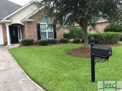Savannah Single Family Home For Sale: 107 Wild Heron Villas #107