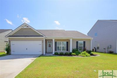 Guyton Single Family Home For Sale: 156 Whirlwind Way