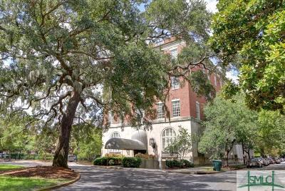 Savannah Condo/Townhouse For Sale: 321 Abercorn Street #403