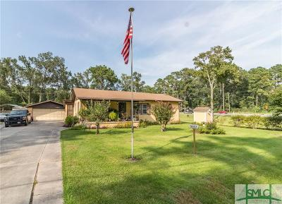 Pooler Single Family Home For Sale: 5012 Old Louisville Road