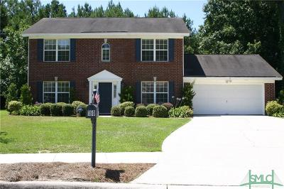 Pooler Single Family Home For Sale: 180 Village Lake Drive