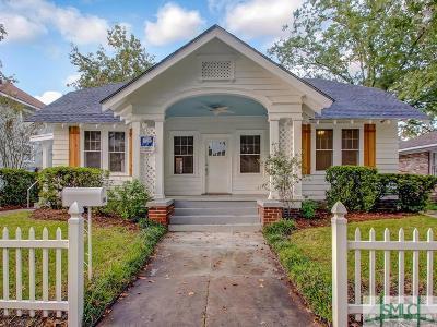 Savannah Single Family Home For Sale: 914 Maupas Avenue