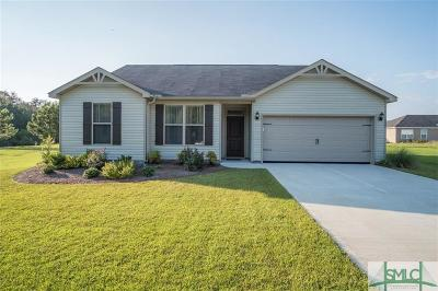 Guyton Single Family Home For Sale: 120 Clydesdale Court