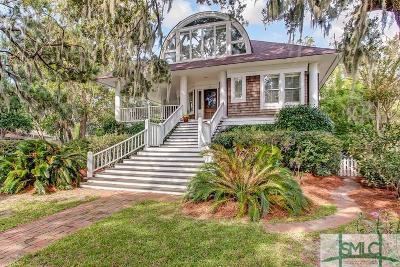 Savannah Single Family Home For Sale: 51 W Bluff Drive