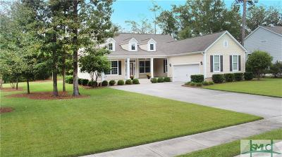 Savannah Single Family Home For Sale: 106 Oakcrest Drive W