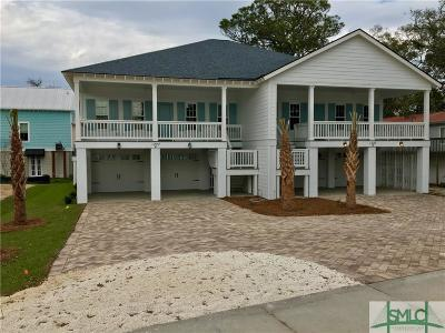 Tybee Island Condo/Townhouse For Sale: 1227a Highway 80 Road #A
