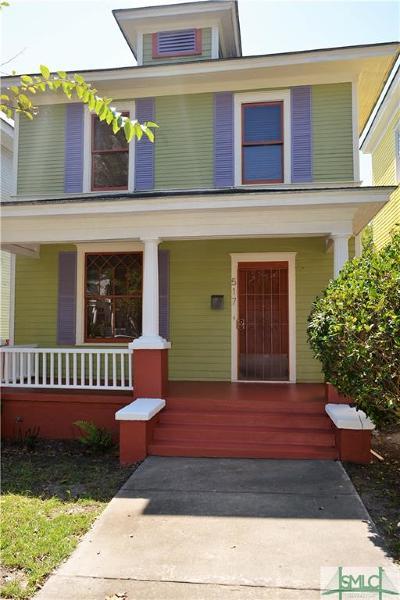 Savannah Single Family Home For Sale: 517 E Henry Street