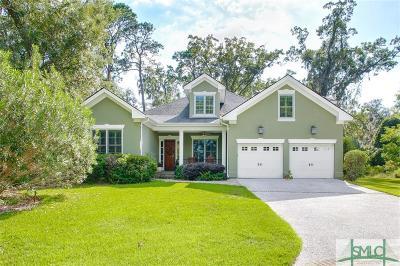 Savannah Single Family Home For Sale: 13 Riverwatch Lane