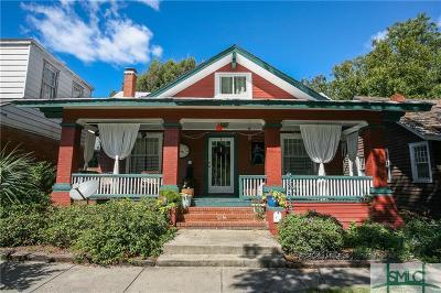 Savannah Single Family Home For Sale: 404 E 40th Street