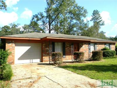 Pooler Single Family Home For Sale: 306 James Road