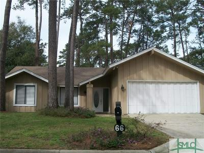 Savannah Single Family Home For Sale: 66 Village Green Circle