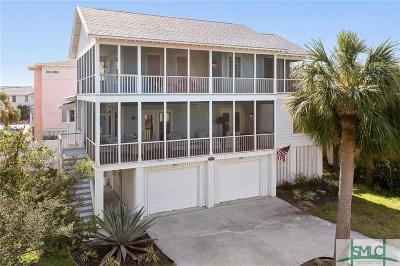 Tybee Island Single Family Home For Sale: 204 Lovell Avenue