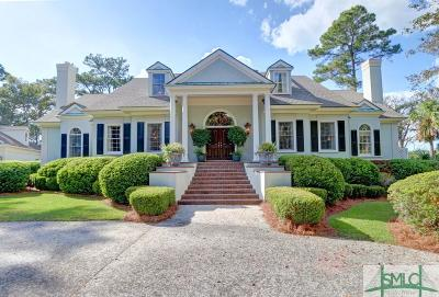 Savannah Single Family Home For Sale: 12 Eagle Point Drive