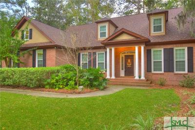 Savannah Single Family Home For Sale: 5 Kuck Lane