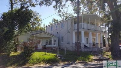 Savannah Multi Family Home For Sale: 1004 - 06 Stiles Avenue