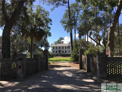Savannah GA Single Family Home For Sale: $1,595,000