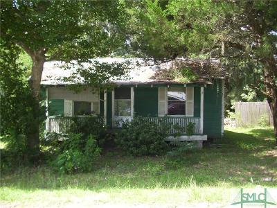 Guyton Single Family Home For Sale: 311 Samuel Smalls Sr Avenue
