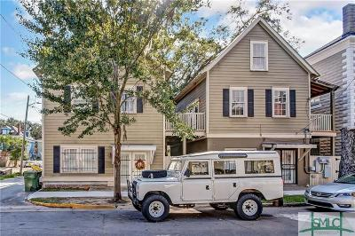 Savannah Multi Family Home For Sale: 113 W 35 Street