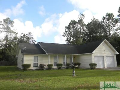 Midway GA Single Family Home For Sale: $160,000