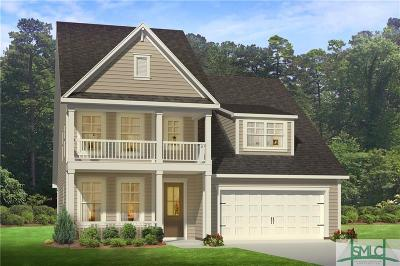 Savannah Single Family Home For Sale: 110 Bushwood Drive