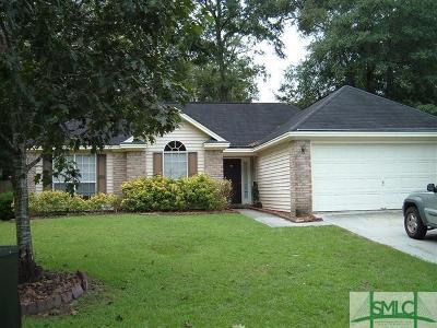 Savannah Single Family Home For Sale: 116 Oak Pointe Trail