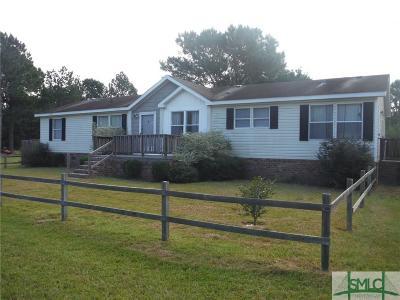 Pembroke GA Mobile Home For Sale: $59,900